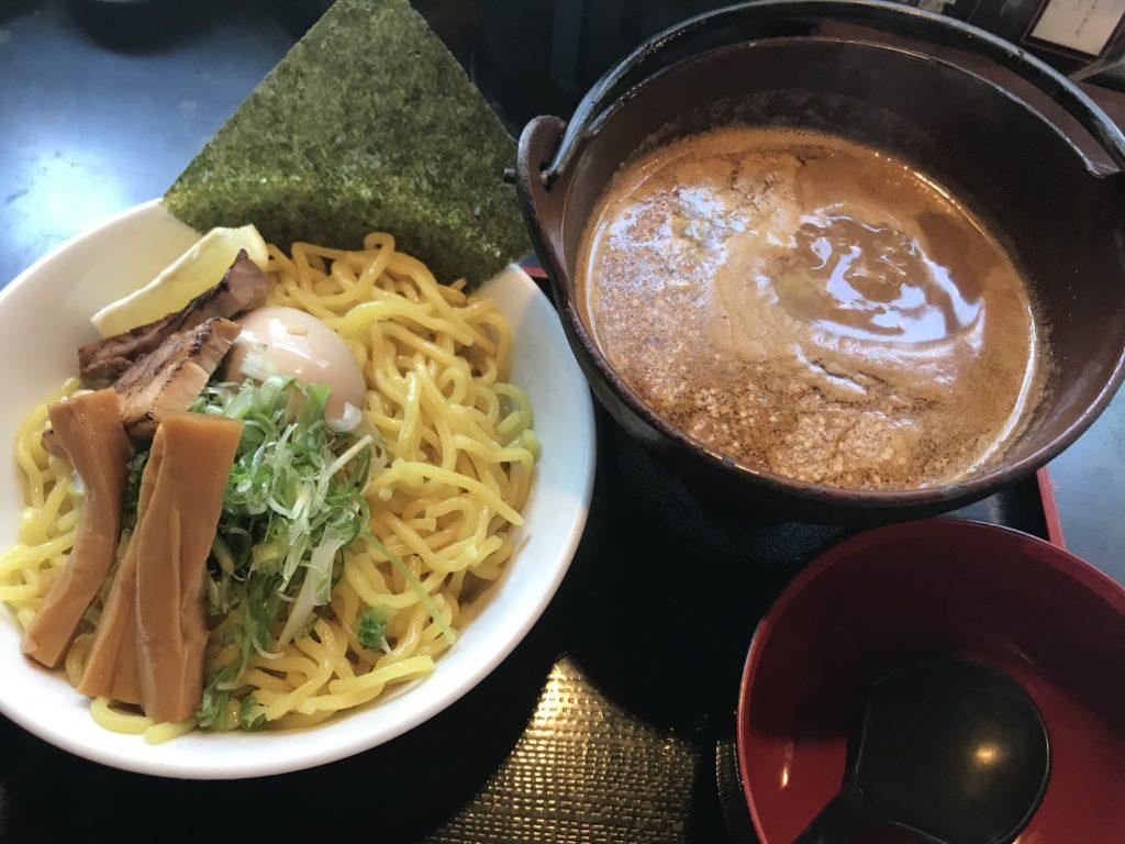 岡谷市 蔵人 極上つけ麺 海老味噌