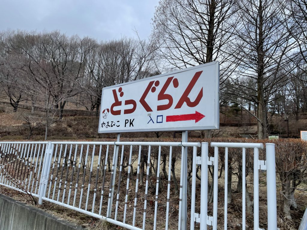 岡谷市鳥居平やまびこ公園 ドッグラン