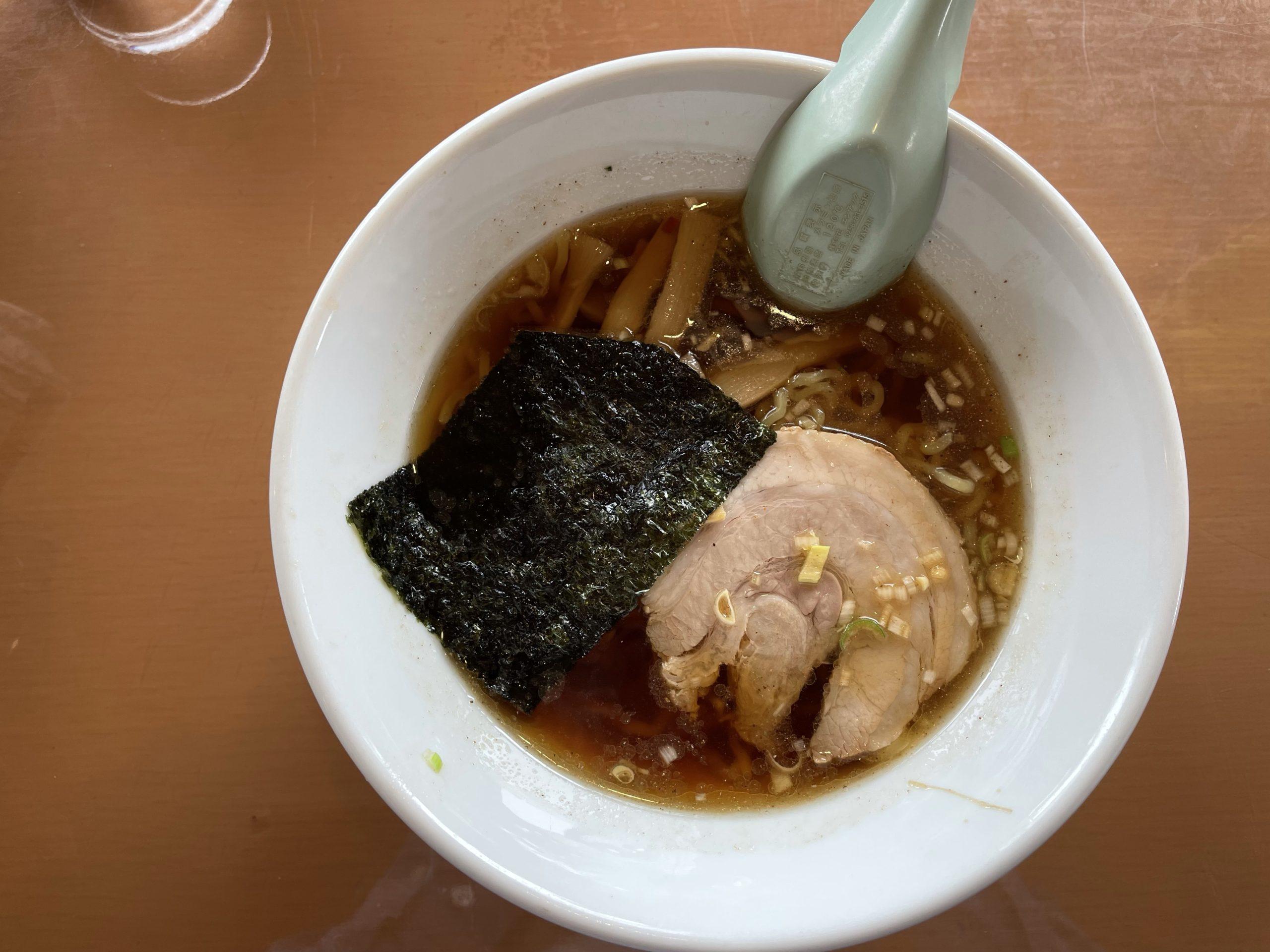伊那市西箕輪 ホサナの煮干し醤油ラーメン