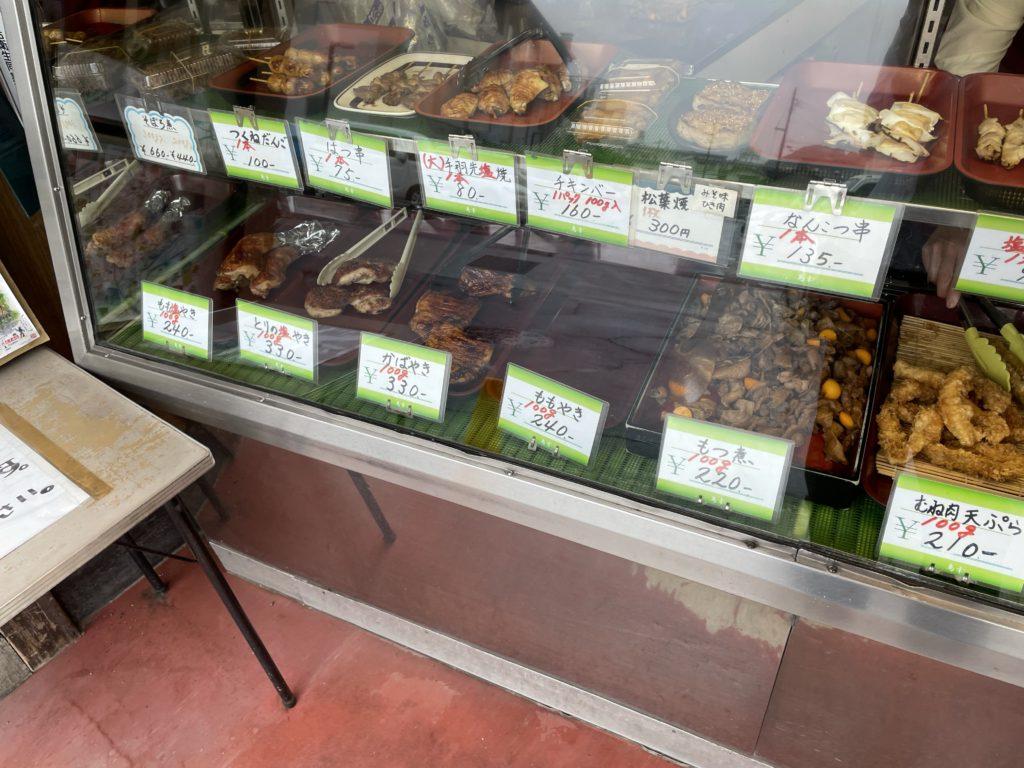 諏訪市 鳥幸の鶏むね肉の天ぷらともつ煮